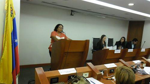 Derecho de palabra en Comisión de Política Interior de la Asamblea Nacional